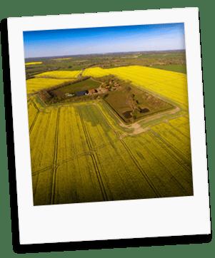hillfarm oils aerial